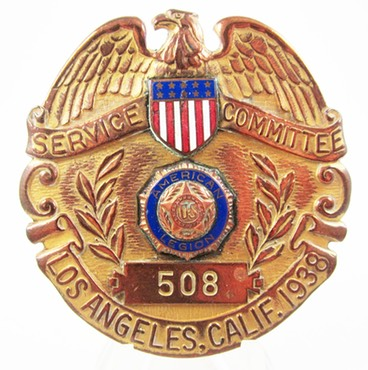 American Legion Badge 1938 1a